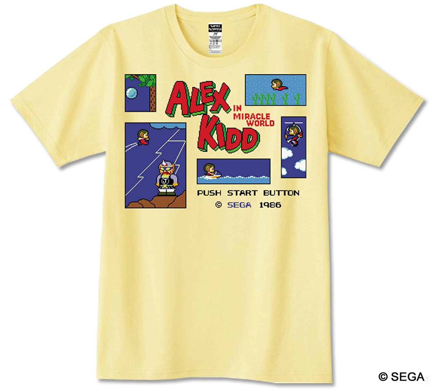 ALEX KIDD in Miracle World Tシャツ (L)