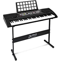 ALPHA 61 Keys Electric Keyboard Piano With MIDI Output, 2 Audio Output, Headphone Output, 128 Timbres And Rhythms, 15…