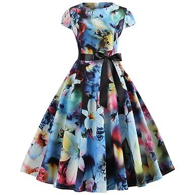 d07ecb7cc5c TOTOD Vintage Dress Women Elegant Long Sleeve Print Dresses - O Neck ...
