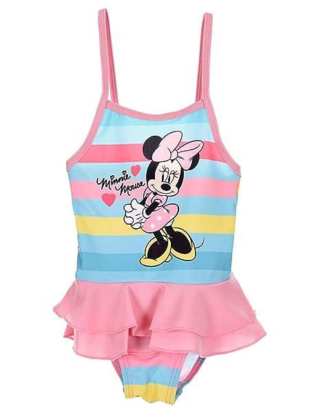 4c8c5a299 Minnie - Bañador dos piezas - para bebé niña: Amazon.es: Ropa y ...