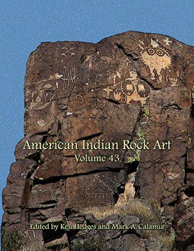 Native American Rock Art - American Indian Rock Art - Volume 43