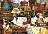 Buffalo Games - Charles Wysocki - Maggie the Messmaker - 300 Large Piece Jigsaw Puzzle