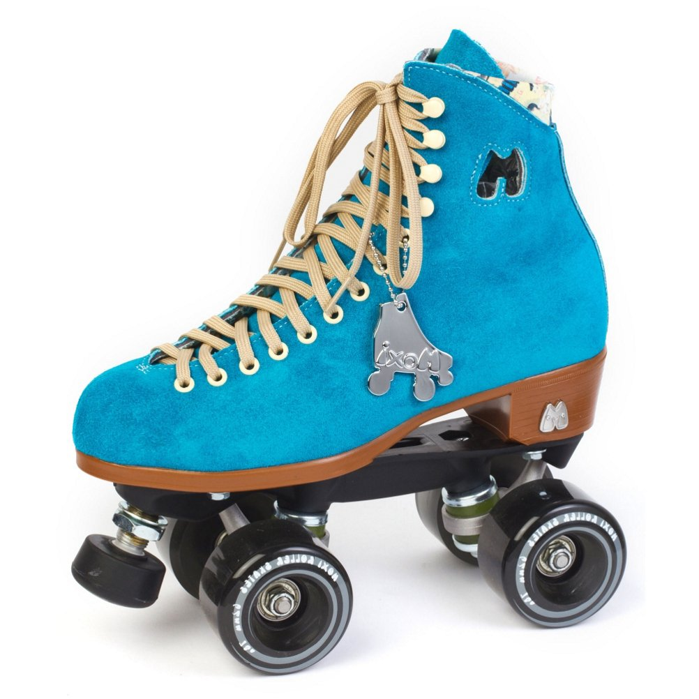 Moxi Lolly Roller Skates - Pool Blue - Size 7 by Riedell