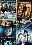 4 Sci-fi Classics (Stranded, The Colony, Scavengers, Gattaca)