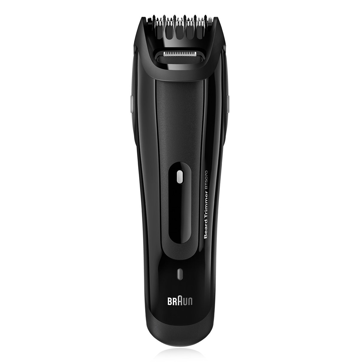 Braun WORLWIDE VOLTAGE Beard Trimmer with All NEW Click&Lock Technology, BONUS FREE Body Spray and Travel Pouch Included