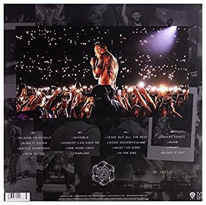 Linkin Park - LINKIN PARK-ONE MORE LIGHT LIVE - VINILO