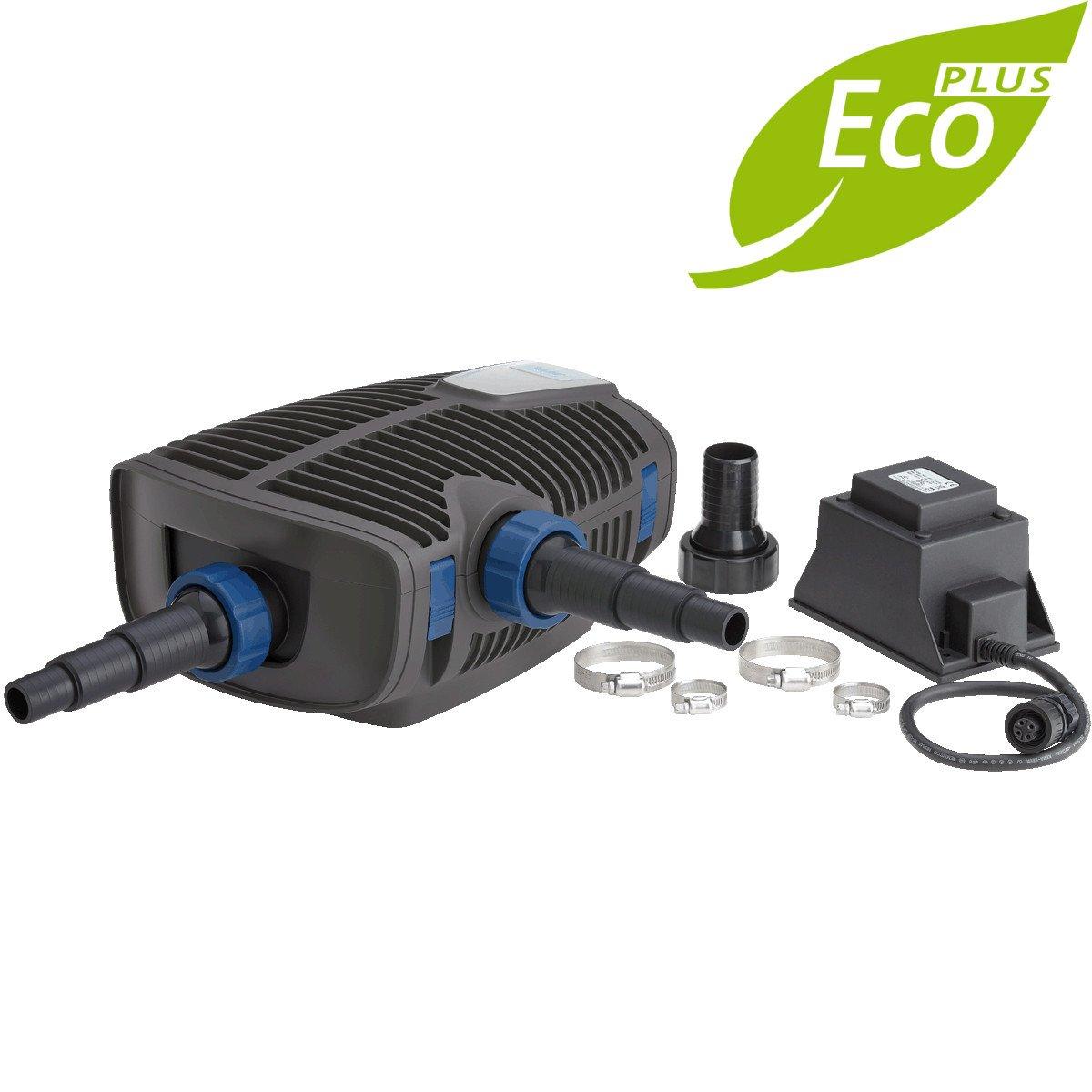 OASE AquaMax Eco Premium 12000 12V- Bomba de filtración de estanque ideal para piscinas