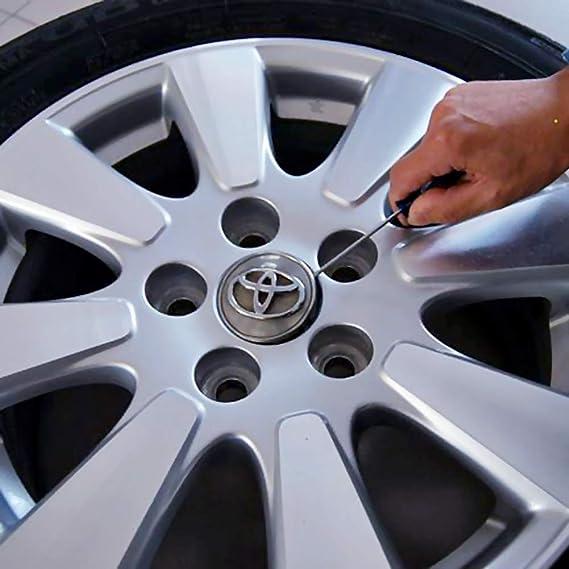 Hihey Auto 4 Modi LED Solar Energie Blinklicht Reifen Felgenlampe LED Ventilkappe Radbeleuchtung Licht Felgenlicht Tunin Auto Felgen Beleuchtung