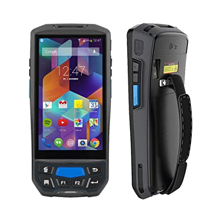 MUNBYN 3G 4G Rugged Handheld Android 7 0 POS Terminal with Touch Screen BT  GPS and Honeywell Barcode Scanner for 1D 2D PDF417