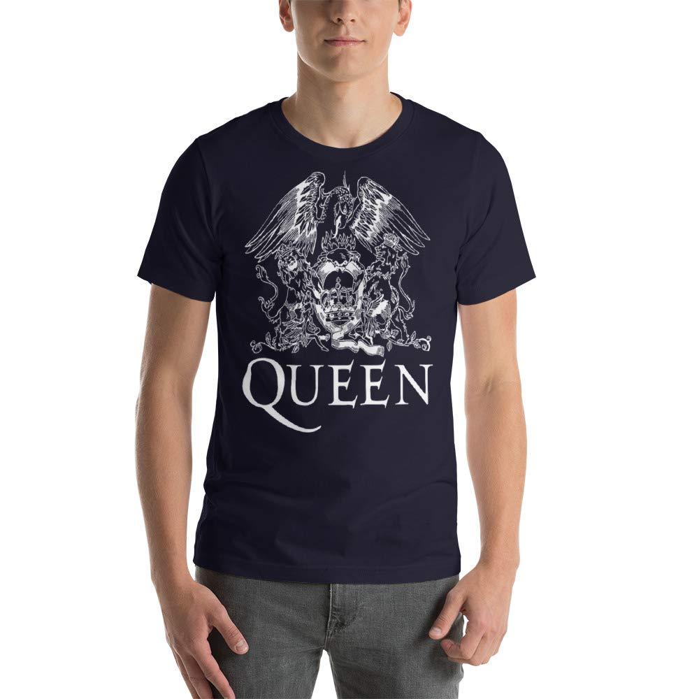 Queen Band Shirt Royal Crest Short-Sleeve Unisex Shirt