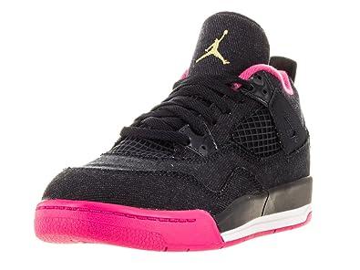 58771103995283 NIKE Jordan Kids Jordan 4 Retro Gp Drk Obsdn Mtllc Gld VVD Pnk Wh  Basketball Shoe 13.5 Kids US  Buy Online at Low Prices in India - Amazon.in