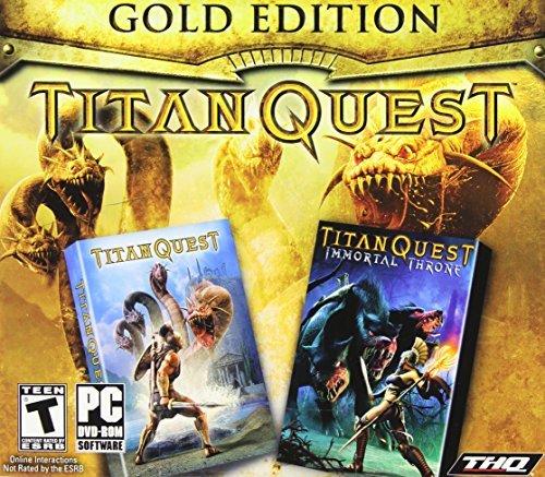 Thq Immortal Throne - Titan Quest Gold (Titan Quest and Titan Quest Immortal Throne) by THQ