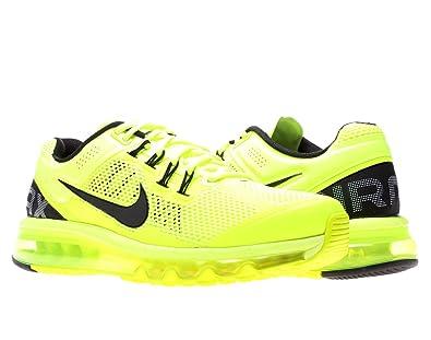NIKE Air Max+ 2013 Mens Running Shoes 554886-701 Volt 7.5 M US