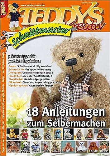 TEDDYS kreativ Schnittmuster 2012: 18 Anleitungen zum Selbermachen ...