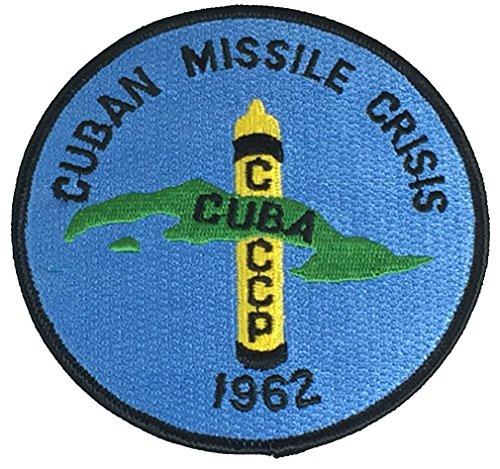 CUBAN MISSILE CRISIS CUBA 1962 CIRCULAR PATCH - COLOR - Veteran Owned - Crisis Pack