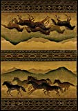 United Weavers Genesis Chestnut Mare Lodge Area Rug