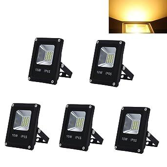 HG® 5 piezas. Proyector de 10W LED Proyector de SMD Aluminio ...