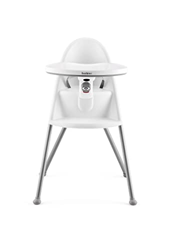 Image result for BabyBjorn High Chair White/Silver
