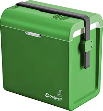 c7d59f5dca2 Outwell ECOcool cool box 12v 24L green 2015 cooler  Amazon.co.uk ...