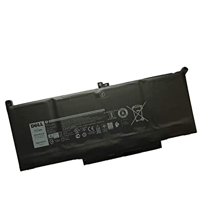 SANISI DELL F3YGT Notebook Battery 7 6V 60Wh for Dell Latitude 7280 7290  7380 7390 7480 7490 Laptop
