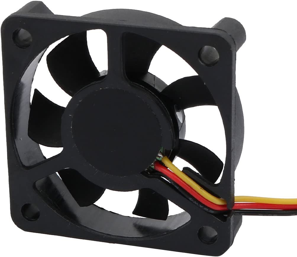 Aexit 7-vanes Heatsinks Electrical equipment Cooling Fan for PC Computer CPU Cooler with Cable Black