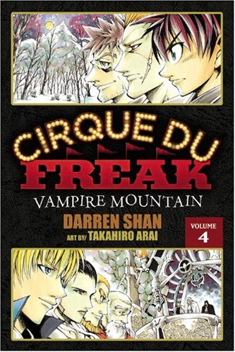 Cirque Du Freak: The Manga, Vol. 4: Vampire Mountain (Best Mountains In Japan)