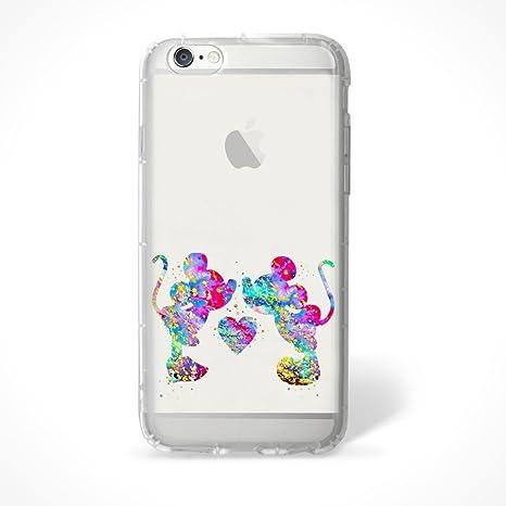 coque iphone 8 plus silicone minnie