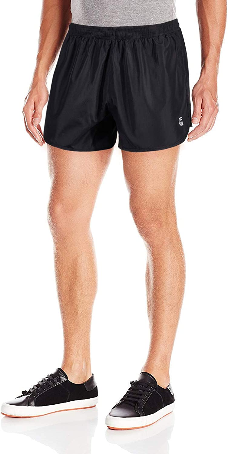 ZITY Mens Quick Dry Lightweight Running Shorts Workout Athletic 3 inches with Inner Pocket Split