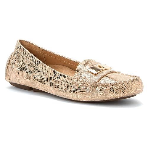 Orthaheel - Mocasines para Mujer Dorado Gold Snake 4: Amazon.es: Zapatos y complementos