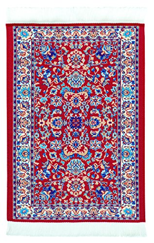 mouse-pad-oriental-carpet-woven-fabric-mousepad-red-tabriz-design