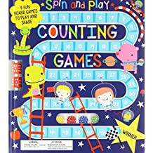 Counting Games: 5 Board Games to Play and Share (Spin and Play)