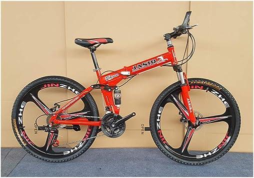 KXDLR Bicicleta De Montaña, De Doble Suspensión MTB De Montaña ...