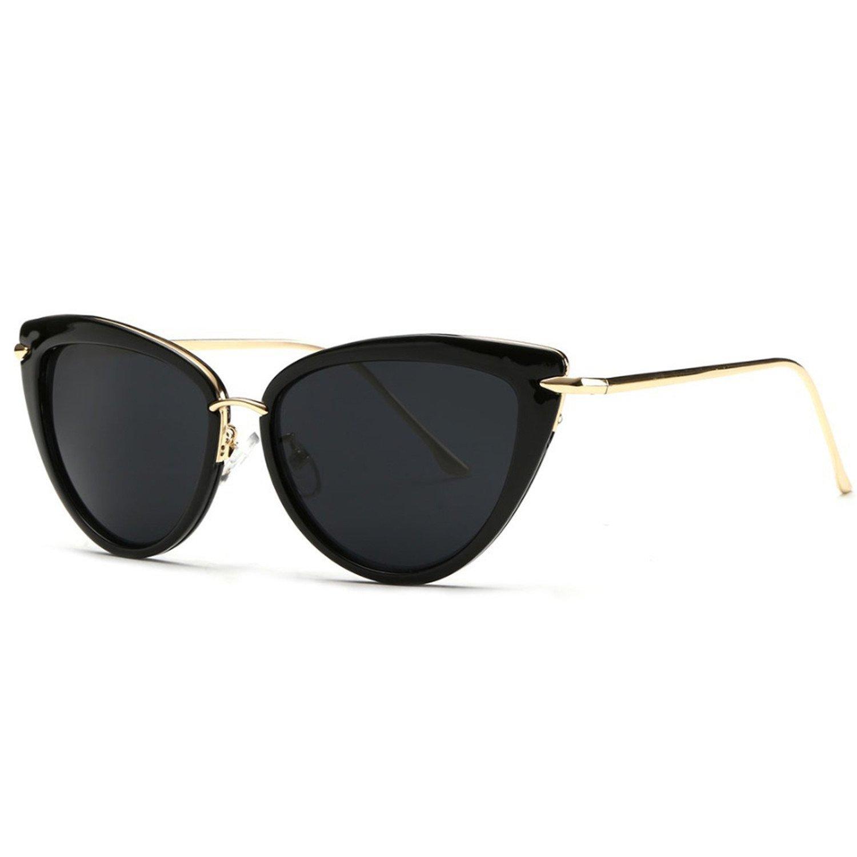 3abde2bd4 Amazon.com: Dormery Alloy Temple Sunglasses Women Top Quality Sun Glasses  Original Brand Designer Gafas Oculos De Sol UV400 AE0269 NO1  (7900246813941): ...
