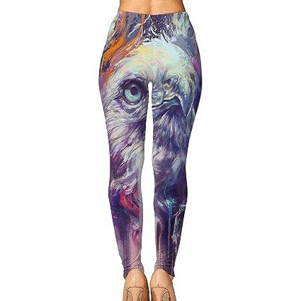 8cfd07ba71744b Amazon.com: Wild Hues Owl Womens Printed Leggings Yoga Pants Workout  Stretchy Tights Pants: Clothing