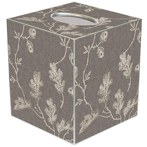 TB2406 - Grey Acorns Tissue Box Cover