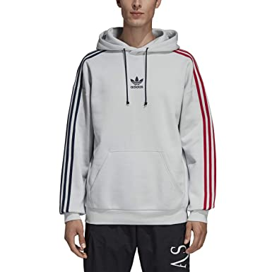 adidas Men's Originals 3-Stripe Hoodie Ec3673 at Amazon ...