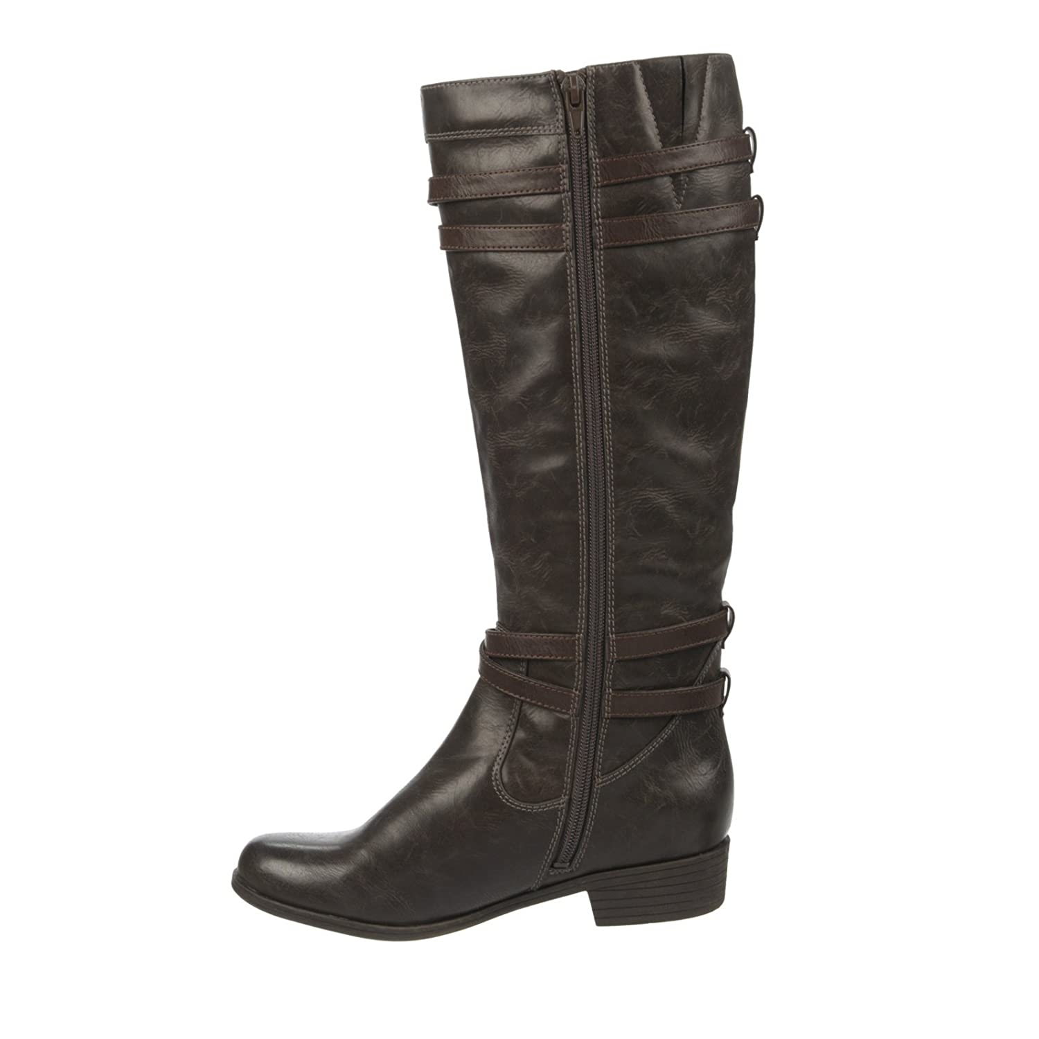 Womens Victorious Closed Toe Mid-Calf Fashion Boots