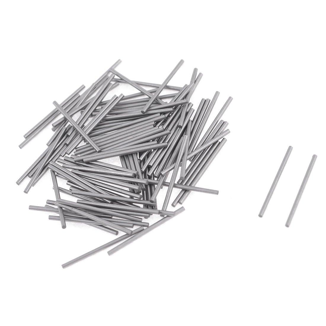 100 Pcs 0.85mm x 15.8mm Parallel Dowel Pins Fasten Elements Sourcingmap a13070200ux1208