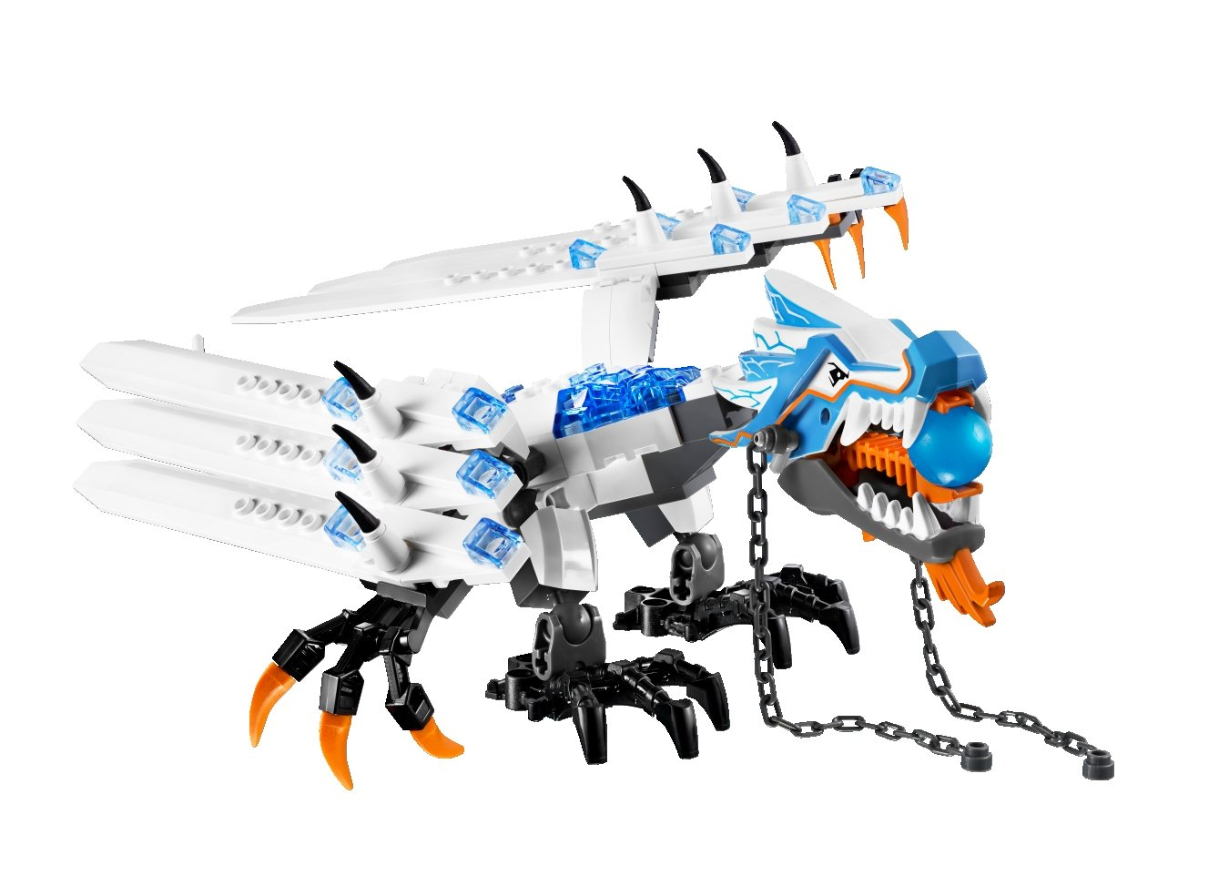 lego ninjago 2260 ice dragon attack amazon co uk toys u0026 games