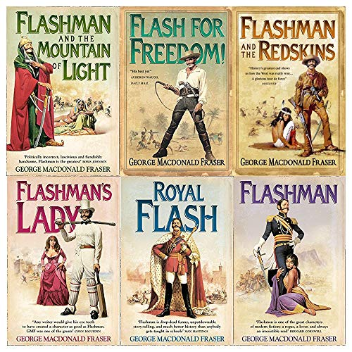 The Flashman Papers Series George MacDonald Fraser Collection 6 Books Bundle