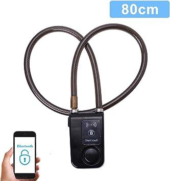 Cerradura Inteligente para Bicicletas Bluetooth Cadena Antirrobo ...