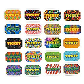 100-Pack Reward Tickets – Prize Tickets Ince...