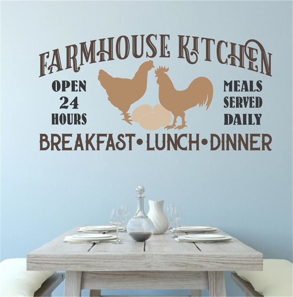 COUNTRY KITCHEN Decal  \u2022  Farmhouse Decal  \u2022  DIY Kitchen Sign  \u2022  Decal for Tiered Tray Sign  \u2022  Kitchen Decor  \u2022  Farm Decal