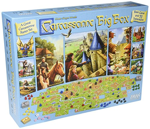 Carcassonne Game (Carcassonne Big Box 2017)