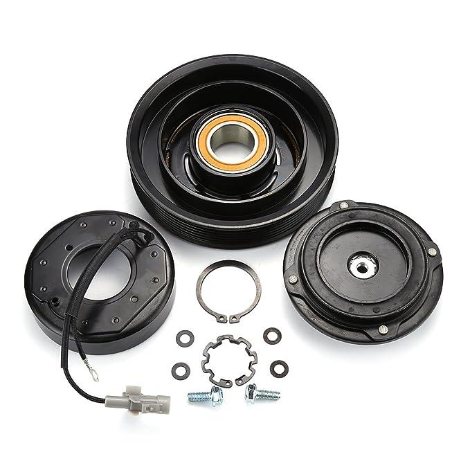 AC Compresor Polea del embrague rodamientos placa de bobina para Toyota Corolla Matrix 03 - 08: Amazon.es: Bricolaje y herramientas