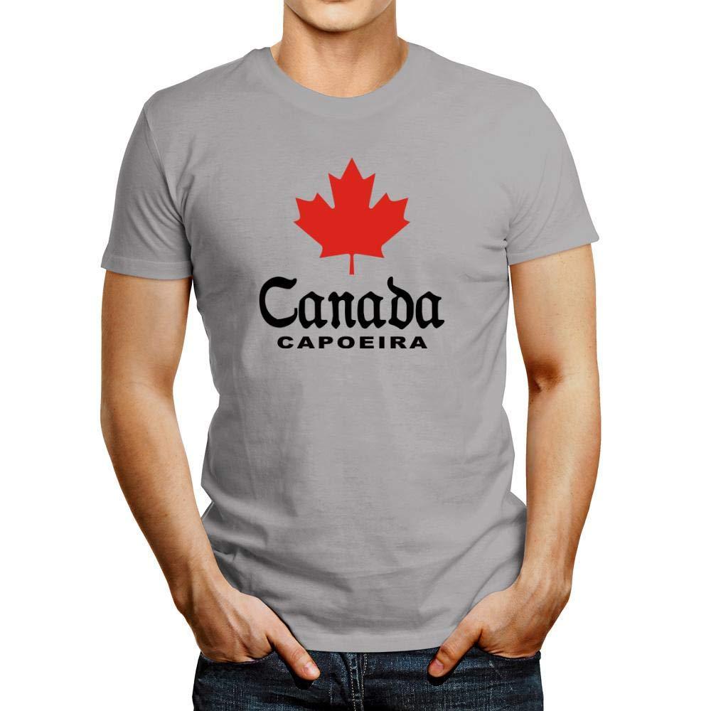 Idakoos Canada Capoeira T Shirt 7141