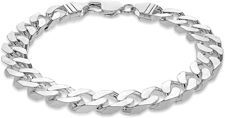 Tuscany Silver 8.23.2133 - Pulsera de plata de ley (925/1000)