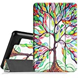 "Fintie SlimShell Case for Fire 7 2015 - Ultra Slim Lightweight Standing Cover for Amazon Fire 7 Tablet (will only fit Fire 7"" Display 5th Generation - 2015 release), Love Tree"