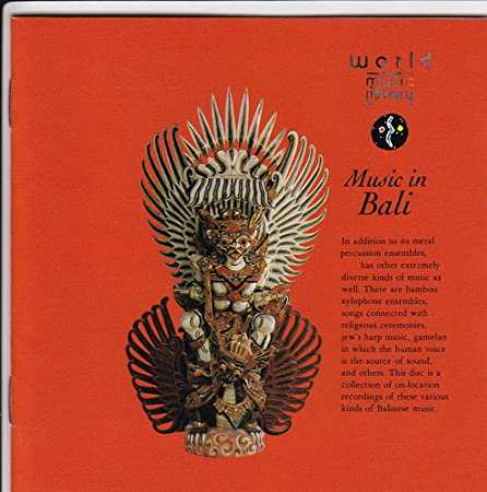 Music in Bali World Music Library