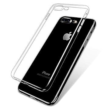 b4ddd6cd99 Amazon | WOVTE iPhone7 Plus 透明ケース TPUソフトケース 超薄 超軽量 ...